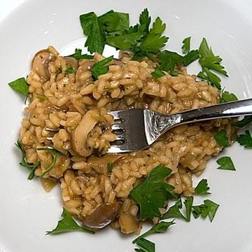 Rezept Risotto al funghi - Pilzrisotto
