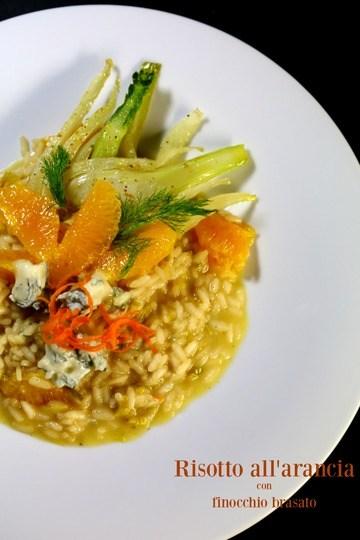 Rezept Risotto all'arancia con finocchio brasato