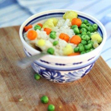 Rezept Risotto mit Gemüse
