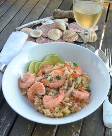 Rezept Risotto mit Meeresfrüchten