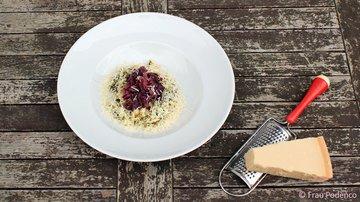 Rezept Risotto mit Spinat und geschmortem Radicchio