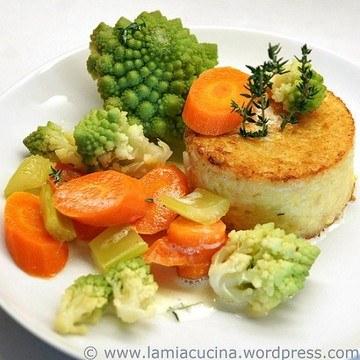 Rezept Risottoküchlein mit Gemüse