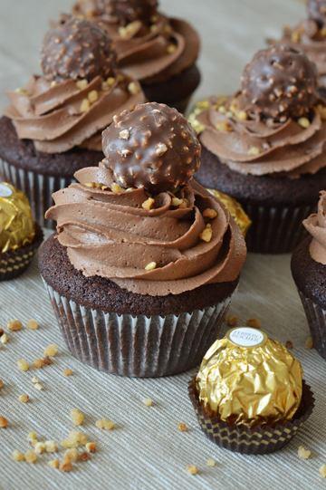 Rezept Rocher-Cupcakes