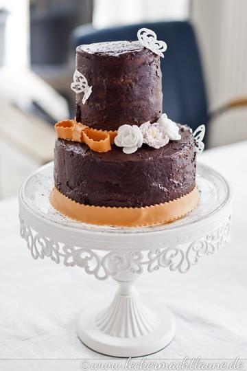 Rezept Rocher Torte – Rezept und Making of