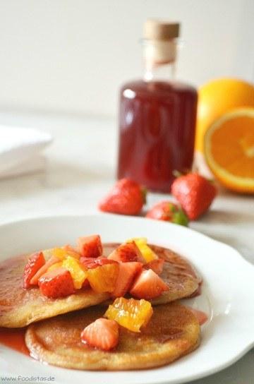 Rezept Roggen-Pancakes