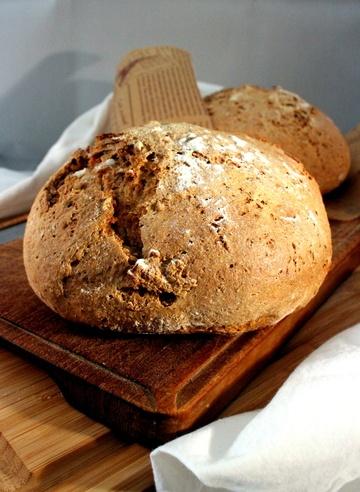 Rezept Roggen-Vollkorn Brot mit Jogurt