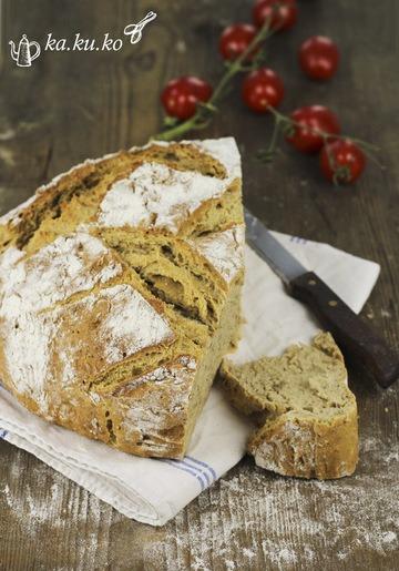 Rezept Roggenmischbrot mit Nüssen und Buttermilch