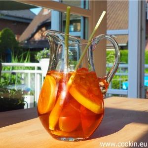 Rezept Roiboos-Eistee mit Ingwer und Zitronengras