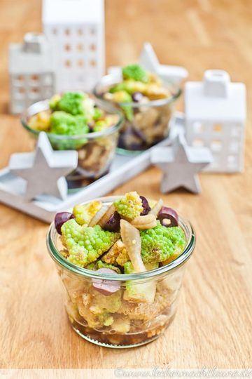 Rezept Romanesco-Fenchel-Salat