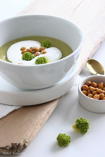 Rezept Romanesco-Kichererbsen-Suppe