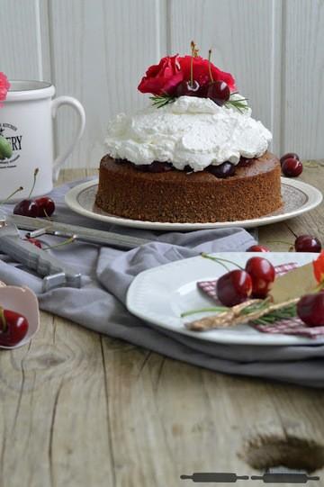 Rezept Rosen Mohn Torte