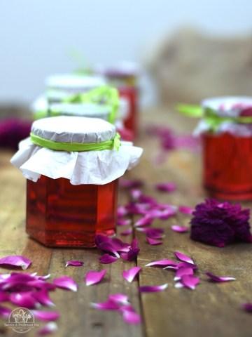 Rezept Rosenblüten-Gelee