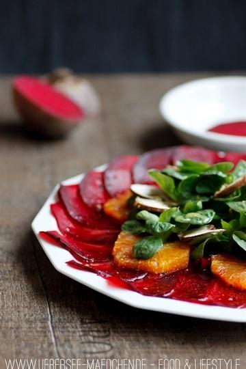 Rezept Rote-Beete-Carpaccio mit Orangen