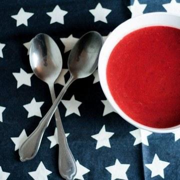 Rezept Rote Beete-Süßkartoffel-Suppe
