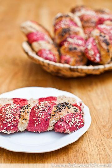 Rezept Rote-Beete-Walnuss-Stangen