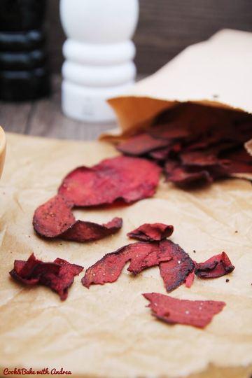 Rezept Rote Bete Chips selber machen