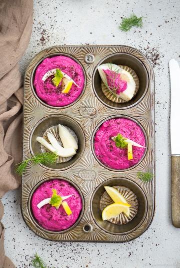 Rezept Rote-Bete-Hummus mit Meerrettich