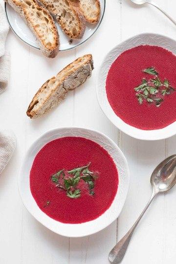 Rezept Rote-Bete-Kokos-Suppe mit Ingwer
