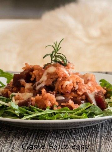 Rezept Rote-Bete-Risotto mit Honig und Rosmarin