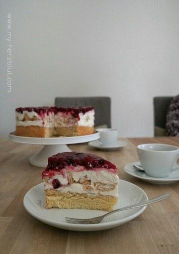 Rezept Rote Grütze Torte