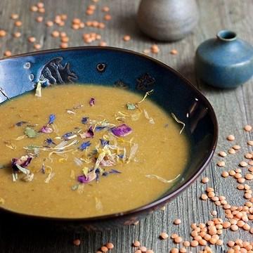 Rezept Rote-Linsen-Suppe mit getrockneten Tomaten
