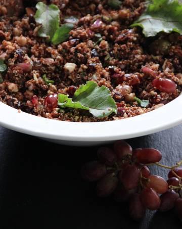 Rezept Roter Quinoa-Salat à la Katie Quinn Davies