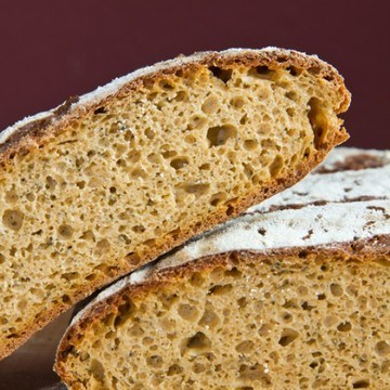 Rezept Rotes Kräuter-Käse-Brot