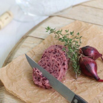 Rezept Rotwein Sherry Schalotten Butter