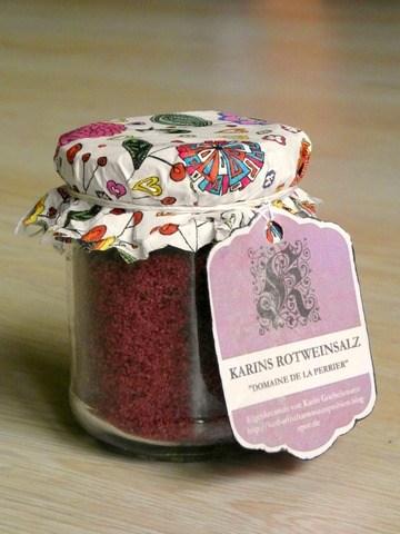 Rezept Rotweinsalz - eine abgefahrene Eigenkreation