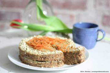 Rezept Rüblikuchen mit Cashew-Frosting RAW & vegan