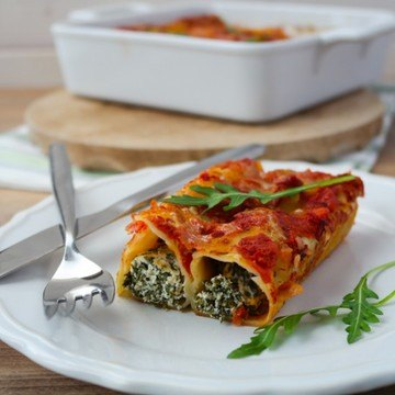 Rezept Rucola-Cannelloni