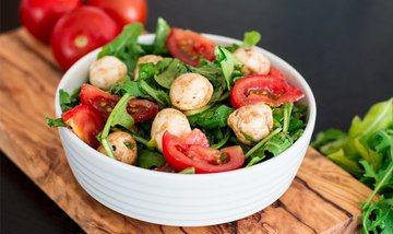 Rezept Rucola-Tomaten-Mozzarella-Salat