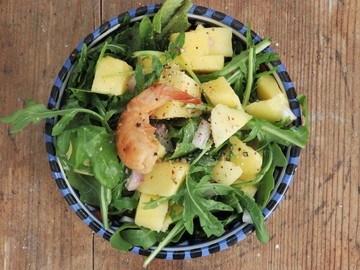 Rezept Rucolasalat mit Mango