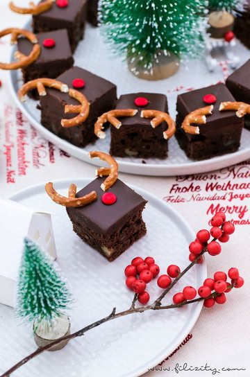Rezept Rudolph Brownies (Death by Chocolate!)