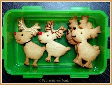 Rezept Rudolph-Kekse