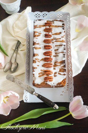 Rezept Rührkuchen mit Pekannuss-Schokoladen-Füllung