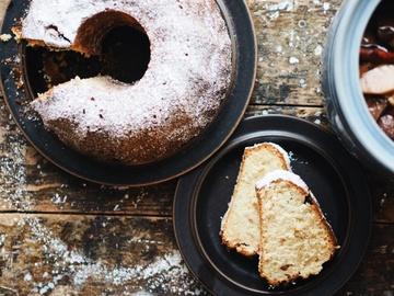 Rezept Rumtopf-Topfkuchen