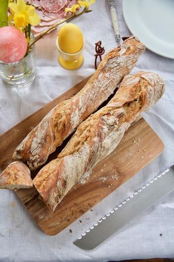 Rezept Rustikales Baguette Magique