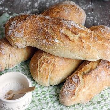 Rezept Rustikales Baguette mit knuspriger Kruste