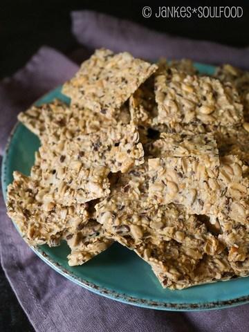 Rezept Saaten-Cracker
