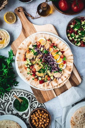 Rezept Sabich – Streetfood aus Israel