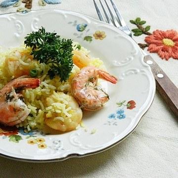 Rezept Safran-Garnelen Reis