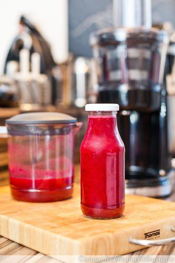 Rezept Saft in Red