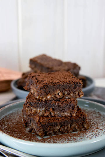 Rezept Saftig leckere Milchreis Brownies