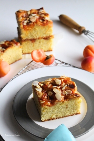 Rezept Saftiger Dinkel-Marillenkuchen