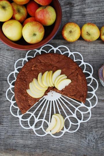 Rezept Saftiger Schoko-Apfelkuchen