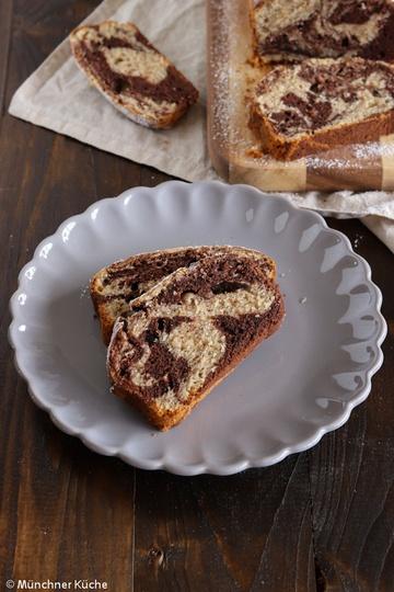 Rezept Saftiger Schokoladen-Nuss-Kuchen