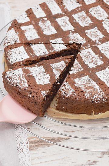 Rezept Saftiger Schokoladenkuchen mit Mandeln