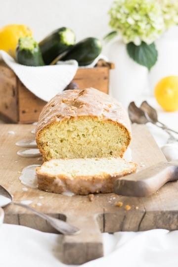 Rezept Saftiger Zitronenkuchen mit Zucchini