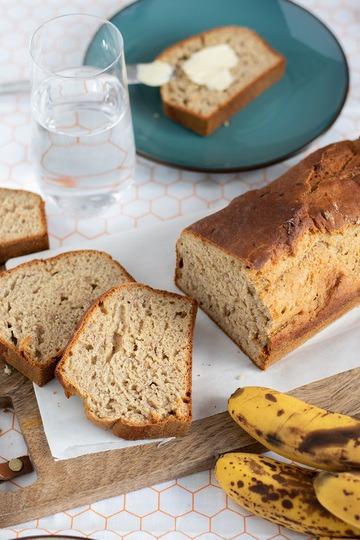 Rezept Saftiges und gesundes Bananenbrot ohne Zucker